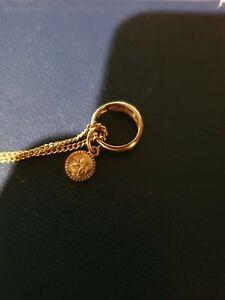 FBM Taufkette mit Taufring und Schutzengel, 333 Gold. Taufe, Goldkette