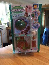 Tomy Pokemon Mate/Polly Pocket Playset -1998 Figuras Mini Compacto (nuevo Y Sellado)