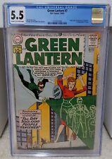 Green Lantern #7 (1961) CGC 5.5 - 1st Appearance of Sinestro DC Comics Key