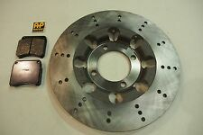 TRIUMPH T140 TR7 T150 T160 LIGHTENED BRAKE DISC AND AP RACING PADS MADE IN UK
