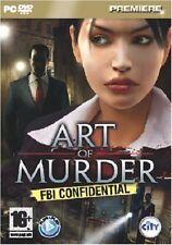 Art of murder: fbi confidential, PC DVD-ROM jeu.