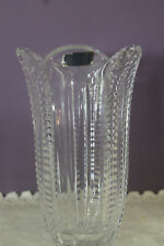 "BEAUTIFUL VIOLETTA POLAND 8"" FLOWER VASE WITH LABEL"