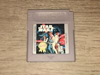 Star Wars Nintendo Game Boy Cleaned & Tested Authentic