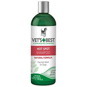 Vet's Best Hot Spot Dog Natural Shampoo 8 fl oz/16 fl oz