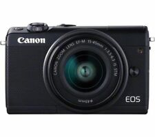 CANON EOS M100 Mirrorless Camera with EF-M 15-45 mm f/3.5-6.3 IS STM Lens