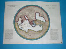 1812 ORIGINAL MAP ANCIENT WORLD / HESIOD / HOMER / ARGONAUTS EXPEDITION
