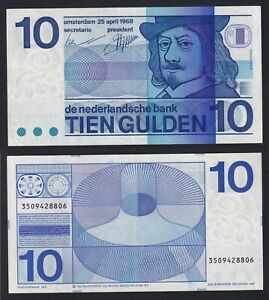 Olanda 10 gulden 1968 BB+/VF+  C-10