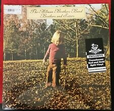 ALLMAN BROTHERS NEWBURY COMICS EXCLUSIVE BROTHERS & SISTERS RED & GOLD SPLIT LP