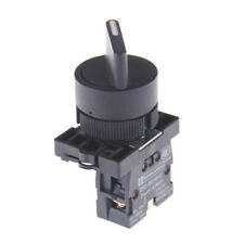 XB2-ED21 On/Off 2 Position Rotary Select Selector Switch 1 NO 10A 600V AC EF