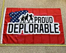 Donald Trump Flag FREE SHIPPING Proud Deplorable 3x5' Banner Poster Flags 2020