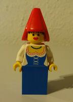 ( B13 /7 ) Lego cas097 Burgfräulein Mädchen Ritter Figuren 6081 Ritterburg