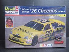 Revell Cheerios #26 Johnny Benson Stock Car Model Kit #85-2553