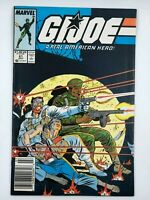 1987 G.I. Joe #61 Marvel Copper Age COMIC BOOK