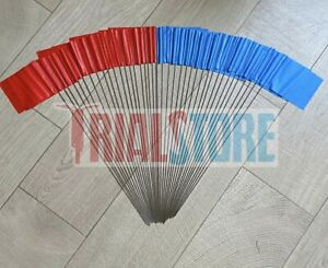 Trialstore Trials Section Flags Red/Blue Trials-Offroad-Adventure FreePP