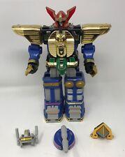 Power Rangers Zeo Megazord 1995 Bandai Deluxe Robot Toy w. ALL HELMETS