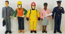 DISCOUNT SCHOOL SUPPLY set of 5 EXCELLERATIONS pretend play CAREER figures