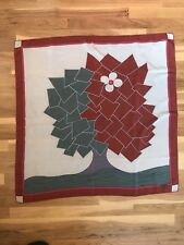 Gres Paris Vintage Silky Scarf Tree Design 33 in x 33 in