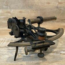 Antique W. Weichert of Cardiff Maritime Ship Sextant Brass & Iron Estate Find