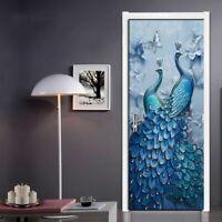 Self-adhesive Door 3d Wallpapers Creative Designs Mural For Bedroom Living Room