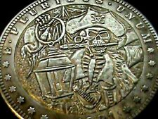 Poker Card Guard~Pirate,s Of The Caribbean~Dead Mans Chest~Fantasy Coin~38 mm