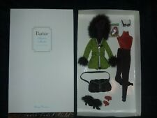 2004 SKIING VACATION OUTFIT SILKSTONE FASHION MODEL Barbie G5271 GOLD LABEL NRFB