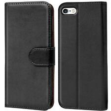 Case Cover Apple iPhone 5 5S SE Magnetic Flip PU Leather Wallet Holder Shell Bag