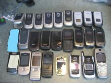 Lot of 24 assorted GSM Nokia phones  FOR PARTS OR REPAIR ONLY!!!