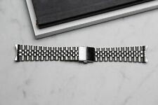 22mm Jubilee Watch Band With Curved End Links