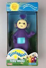 "Vintage Teletubbies Tinky Winky PVC 6"" Doll, 1998 Playskool, NIB"