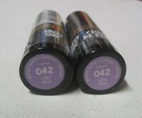 2 tube lot Revlon Super Lustrous Lipstick CREME 042 LILAC MIST sealed