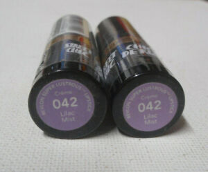 2 tube lot Revlon Super Lustrous Lipstick CREME 042 LILAC MIST sealed