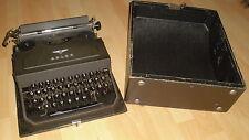 büro schreibmaschine reise schreib koffer maschine adler B4010 alt top deko 40er