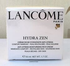 LANCOME HYDRA ZEN MOISTURISER 50ML - DRY SKIN - CELLOPHANE SEALED