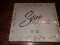 SELENA Unforgettable Limited Edition Numbered 2 cd set RARE! No.4532