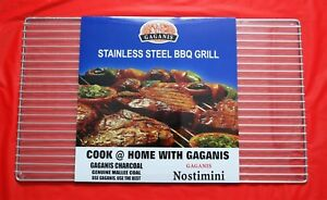 Gaganis Stainless Steel Grill 720mm x 420mm (Matches Gaganis Souvla)