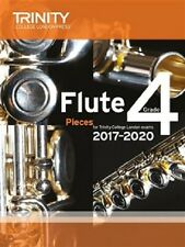 Trinity College London Flute Exam Pieces Grade 4 2017-2020 (Score & Part)