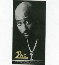 2 PAC - STICKER/DECAL - BRAND NEW VINTAGE - MUSIC BAND TUPAC 032
