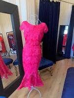 Pink Long Dress Prom Dresses Formal Dresses Ball Gown Wedding Guest Races RRP£85