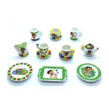 Fèves de collection en porcelaine _ LA DINETTE DE DORA _ Série complète 10 Feves