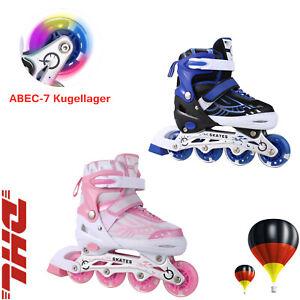 31-42verstellbar LED DE Inline Skate  Kinder Inlineskates Inliner Rollschuhe Gr