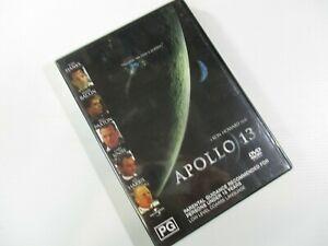 DVD Ron Howard's Apollo 13 PG PAL Universal Studios 2002 Brand New.