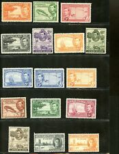 LOT 79794 MINT H 100 - 115 STAMPS FROM CAYMAN ISLAND BRITISH COLONY