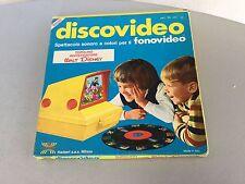 VINTAGE 70's# DISNEY HARBERT DISCOVIDEO DISCO VIDEO#TOPOLINO INVESTIGATORE #NIB