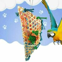 New Pet Bird Parrot Swing Cage Foraging Toys Chew Bites For Parakeet L9F8 C F5X6