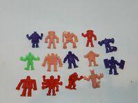 Lot of 14 Vintage Mattel M.U.S.C.L.E. Action Figures Muscle Men Lots Colors
