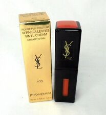 Yves Saint Laurent Rouge Pur Couture Vinyl Cream  ~ 408 Coral Neo Pop ~ 0.18 oz