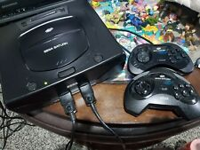 SEGA Saturn Black Console- Tested and works!- No Games.
