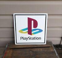 "Playstation Metal Sign Game Room Mancave 12x12"" 50129"