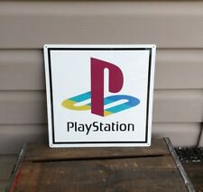 "Playstation Metal Sign Game Room Mancave 12x12"" 50129"