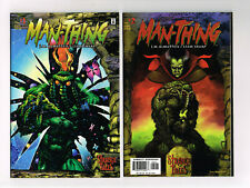 MAN-THING #1 & #2 NM+ MARVEL COMICS 1997 STRANGE TALES DeMATTEIS & SHARP